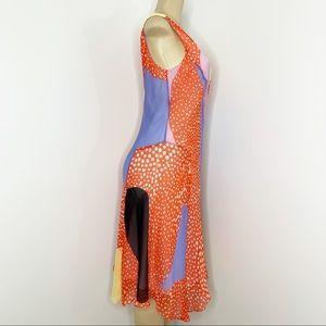 Diane Von Furstenberg Dresses - DIANE VON FURSTENBURG Starfish Silk Dress Size 8